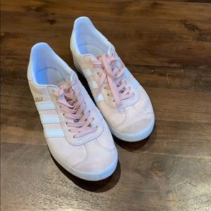 Preowned Pink Adidas Gazelle